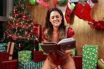 Masturbação gostosa das tesudas em clima natalino